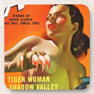 Posavasos Mujer del tigre