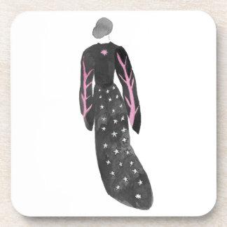 Posavasos Mujer en trajes