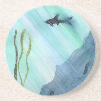 Posavasos Natación del tiburón