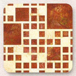 Posavasos Nemissos V1 - cuadrados pintados