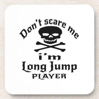 Posavasos No me asuste que soy jugador del salto de longitud