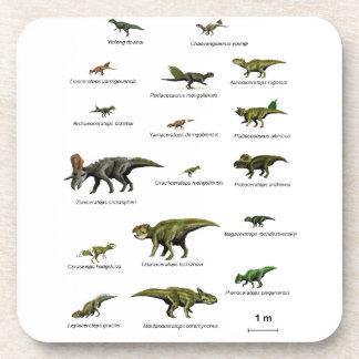 Posavasos Nombres de los dinosaurios