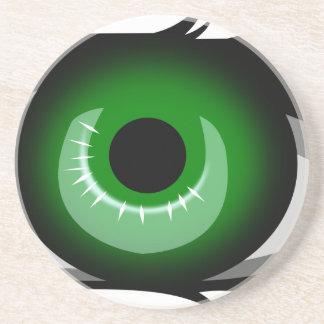 Posavasos Ojo verde