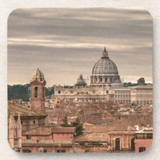 Posavasos Opinión aérea de Roma de Monte Pincio que hace