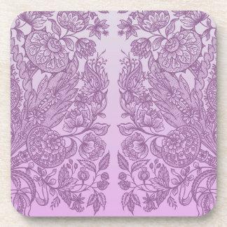 Posavasos Ornamento rosado polvoriento