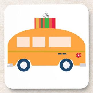 Posavasos Oro del autobús del diseño