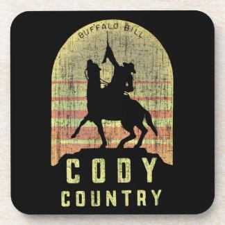 Posavasos País Wyoming de Cody