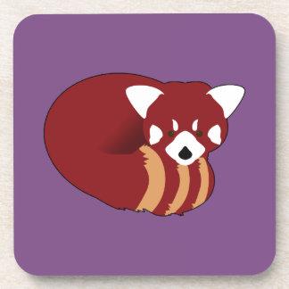 Posavasos Panda roja