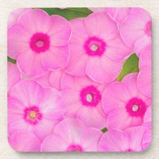 Posavasos pequeñas flores rosadas