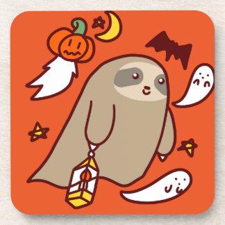 Posavasos Pereza del fantasma de Halloween