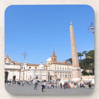 Posavasos Piazza del Popolo, Roma, Italia