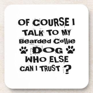 Posavasos Por supuesto hablo con mis diseños barbudos del