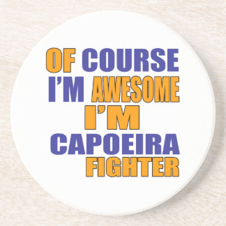 Posavasos Por supuesto soy combatiente de Capoeira