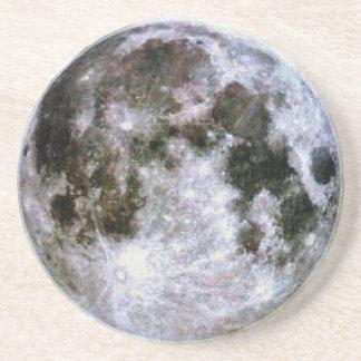 Posavasos Práctico de costa de la Luna Llena