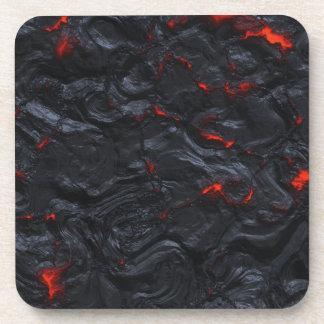 Posavasos prácticos de costa de la lava