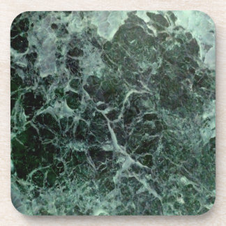 Posavasos Prácticos de costa de mármol verdes