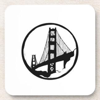 Posavasos Prácticos de costa de San Francisco de puente