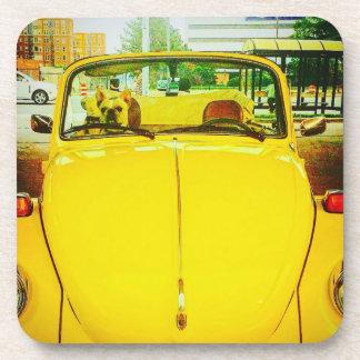 Posavasos Prácticos de costa del coche del vintage (fije de