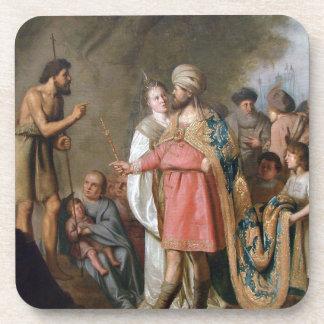 Posavasos Predicación de San Juan Bautista