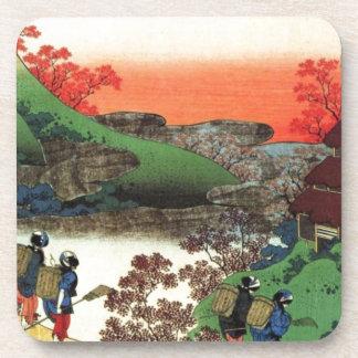 Posavasos Pueblo japonés