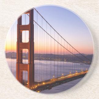 Posavasos Puente Golden Gate San Francisco en la salida del