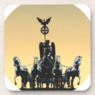 Posavasos Puerta de Brandeburgo de la cuadriga de Berlín