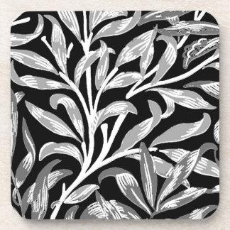 Posavasos Rama, negro, blanco y gris del sauce de William