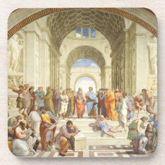Posavasos Raphael - La escuela de Atenas 1511