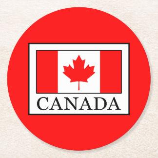 Posavasos Redondo De Papel Canadá