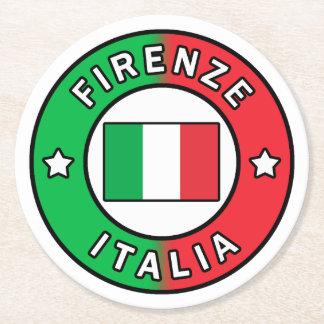 Posavasos Redondo De Papel Firenze Italia