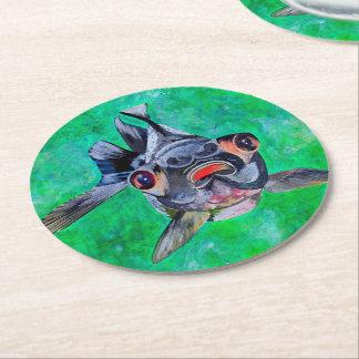 Posavasos Redondo De Papel Goldfish de Blackmoor