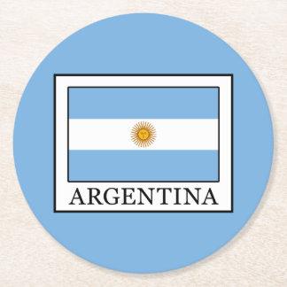 Posavasos Redondo De Papel La Argentina