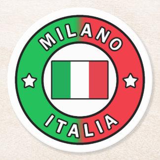 Posavasos Redondo De Papel Milano Italia
