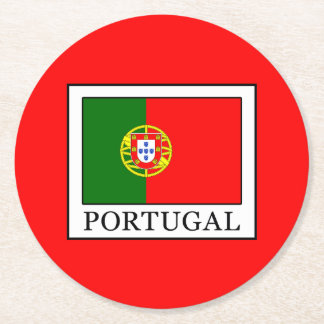 Posavasos Redondo De Papel Portugal