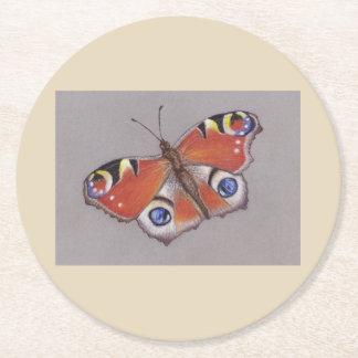 Posavasos Redondo De Papel Prácticos de costa de la tarjeta con el diseño 3