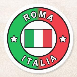 Posavasos Redondo De Papel Roma Italia