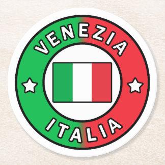 Posavasos Redondo De Papel Venezia Italia