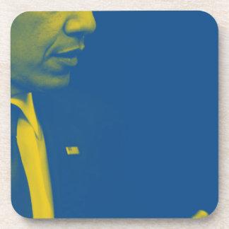Posavasos Retrato de presidente Barack Obama 38d