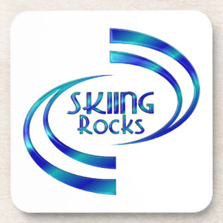 Posavasos Rocas del esquí