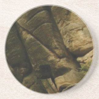 Posavasos rocas grises del estruendo