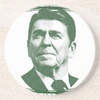 Posavasos Ronald Reagan una nación debajo de dios