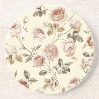 Posavasos Rosas lindos del vintage