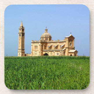 Posavasos Santuario de TA Pinu, Gharb, isla de Gozo