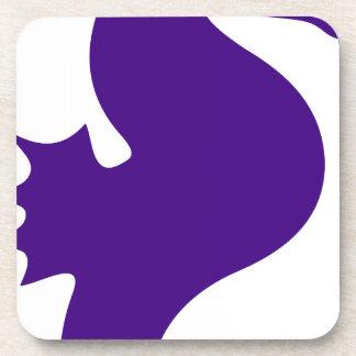 Posavasos Seahorse púrpura