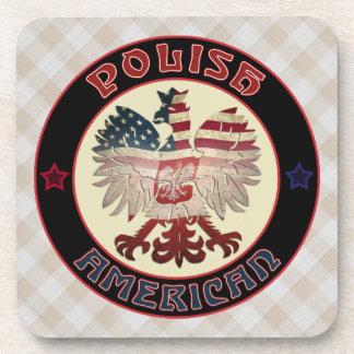 Posavasos Sistema blanco americano polaco del práctico de