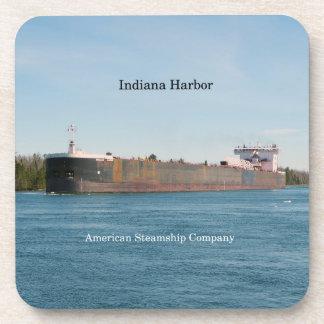 Posavasos Sistema del puerto de Indiana de 6 prácticos de