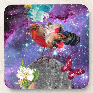 Posavasos Steampunk Bird