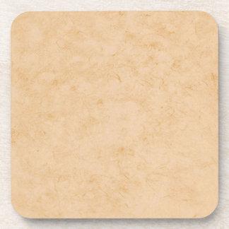 Posavasos Textura en colores pastel del mármol de Brown