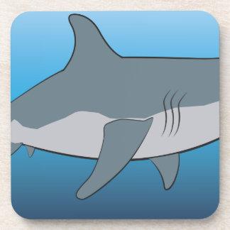 Posavasos tiburón
