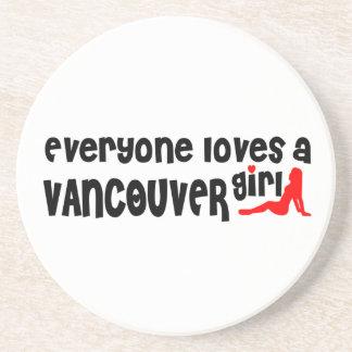 Posavasos Todos ama a un chica de Vancouver